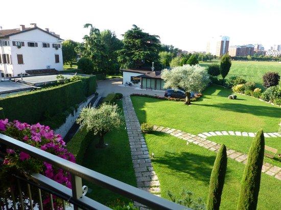 Ca' dell'Orto: Garten Südweite