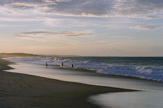 Praia do Presídio: Pôr do sol