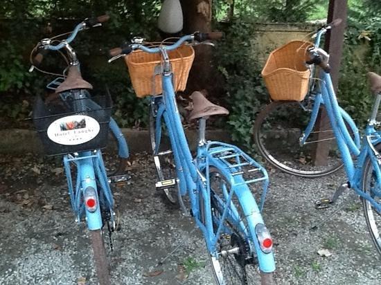 Hotel Langhe: biciclette a disposizione della clientela