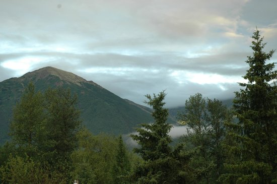Alaska Dacha: View from the motel upper deck