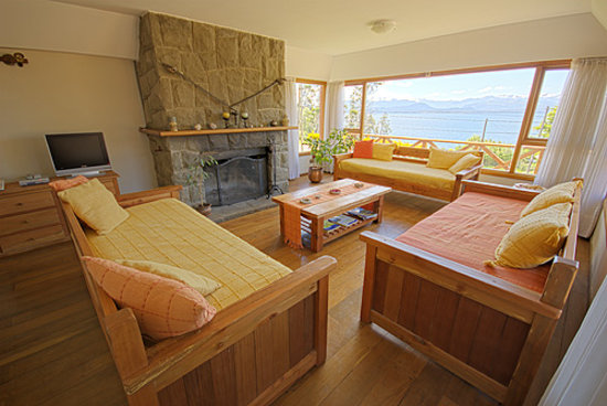 Apart Hotel del Arroyo: Vista al Lago Nahuel Huapi