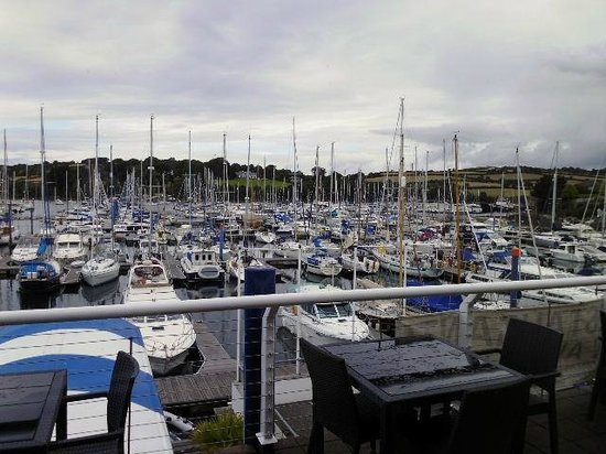 Marine Bar & Restaurant: Superb view