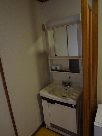 Hagi Grand Hotel Tenku: 洗面台です。