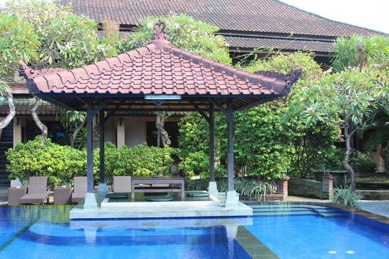 Fat Yogi Cottages : Nice pool area