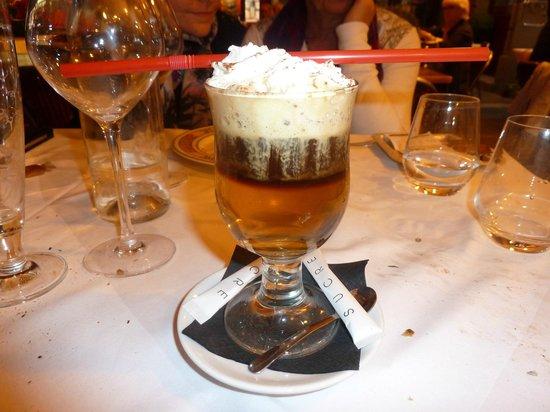 Le Cafe de Saint Malo : Irish coffee