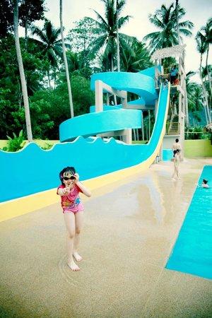 Coco Splash Adventure & WaterPark: the highest slide in the waterpark