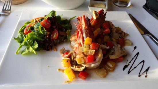 Da Maurizio Bar Ristorante: The prawns second course