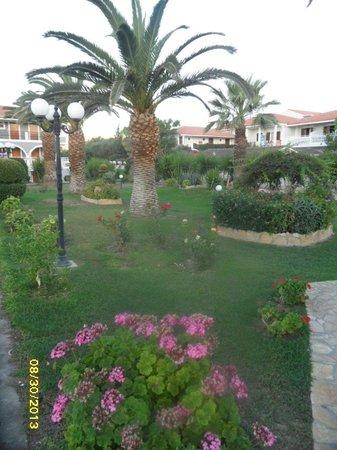 Golden Sun Hotel: gardens