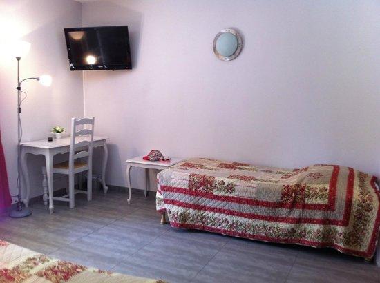 Hotel des Granges : camera quadrupla
