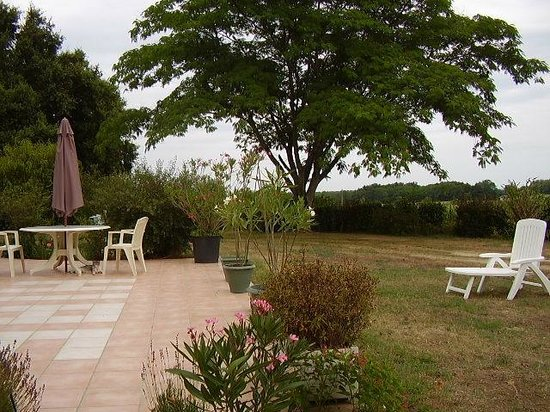 Gite Hias : Terrasse
