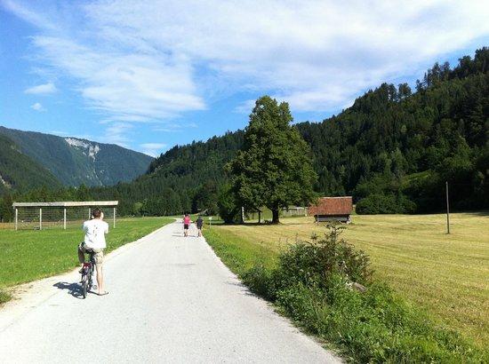 "pr1mo tours: ""Radovna"" Alpine valley bike trip 1"