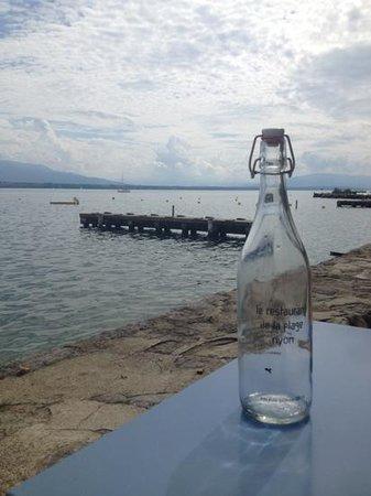 Restaurant de la plage: cafe de la plage poetique