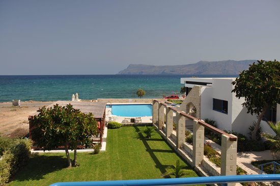 Viglia Beach Apartments: view from the balcony