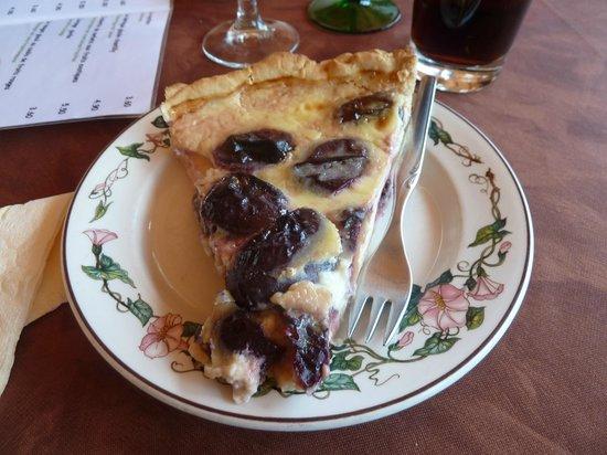 Restaurant au Wasigenstein : Tarte aux quetsches