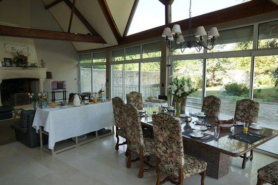 Saint Graal Chambres d hotes de Charme : Breakfast Room