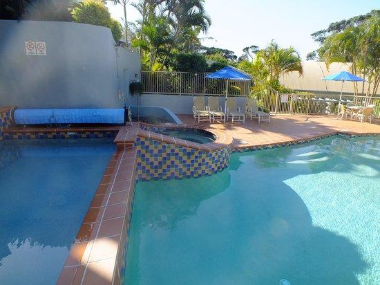 Lennox Beach Resort - Lennox Head: Pool area