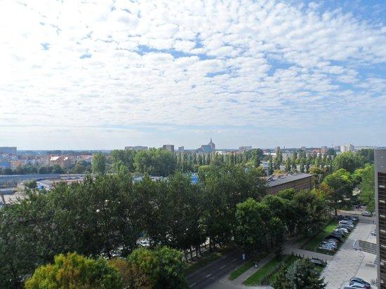 Sanatorium San: Balcony view