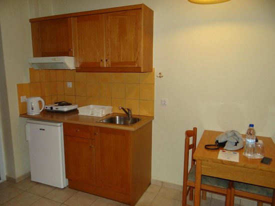 Akti Chara Hotel: Kitchen