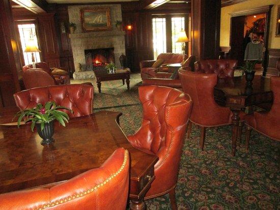 Harborside Hotel & Marina: hotel lobby