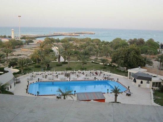 Shayan International Hotel: pier - from balcony
