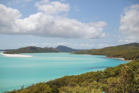 Whitehaven Beach : from the lookout