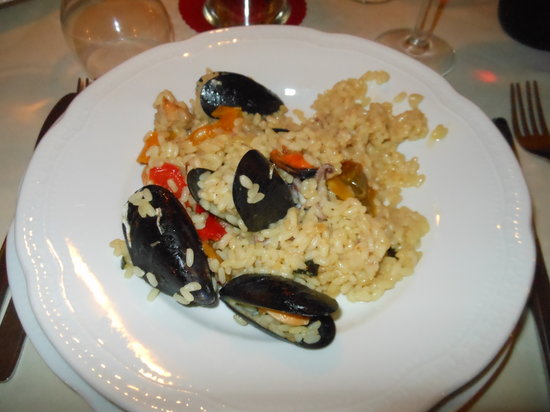 Hotel Principe: paella....