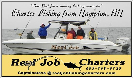 Reel Job Fishing Charters Great Striped B Charter Action From June To August Hampton