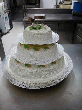 Pasticceria Bassano: Torta nuziale
