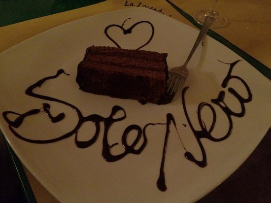 Locanda del Sole Nero : torta sacher