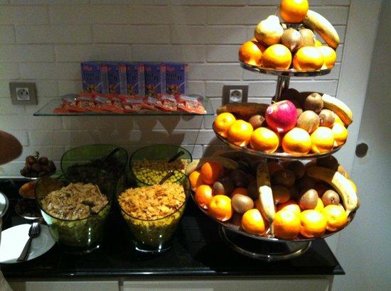 Hotel Keppler: Buffet fruits