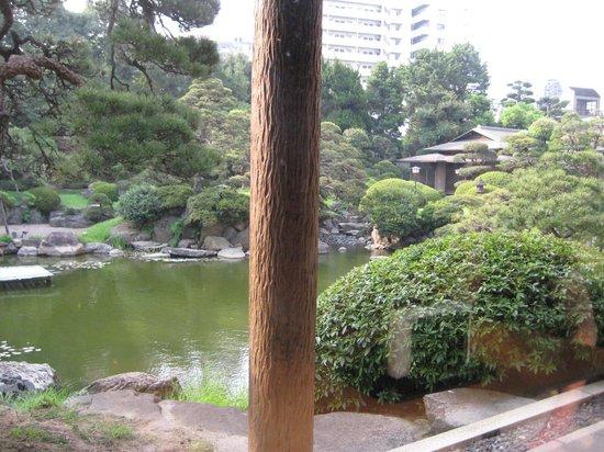 Hotel New Tagawa: 中庭・・日本庭園
