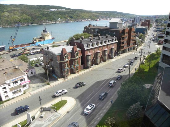 Sheraton Hotel Newfoundland: View from our room