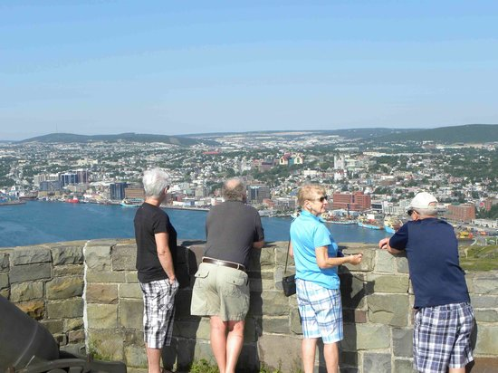 Sheraton Hotel Newfoundland: Lookout on top of Signal Hill
