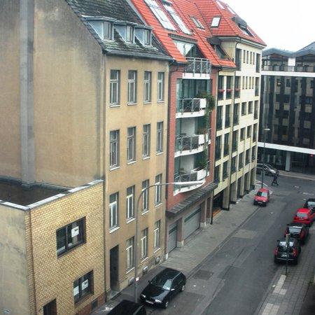 Appartel am Dom: vista da frente do hotel