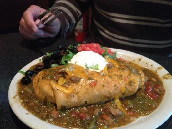 Pumphouse Brewery: Big burritos