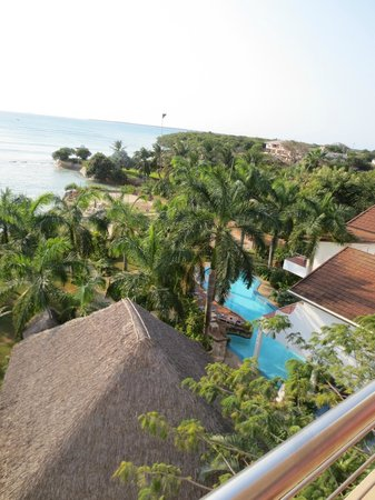 Best Western Coral Beach Hotel: Hotel Pool from Room