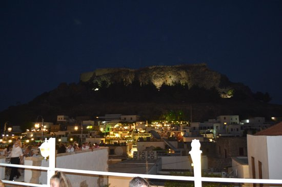 Kalypso Restaurant : panorama dalla terrazza