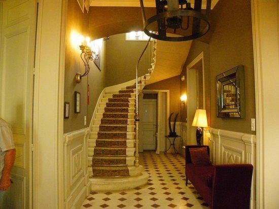 Hotel Particulier La Chamoiserie: entrée