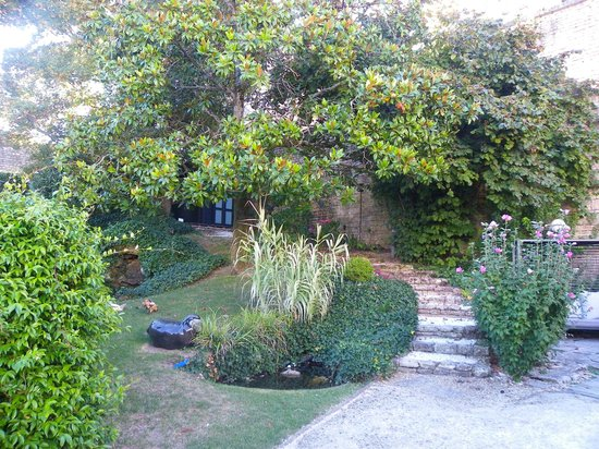 Hotel Particulier La Chamoiserie: Jardin