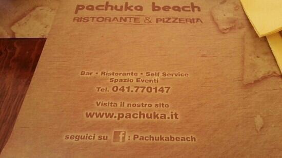 Pachuka : tovaglietta