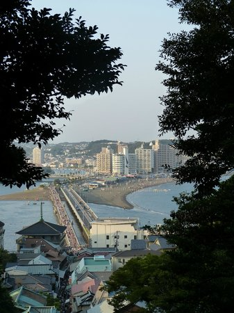 Enoshima Shrine : view from the temple