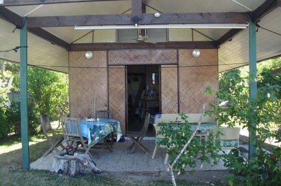 "Otaha Lodge : Il ""nostro"" bungalow"