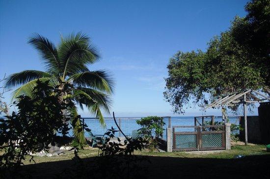 Otaha Lodge : Vista sulla laguna