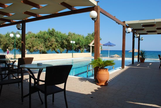 Mesogios Beach: vista ristorante