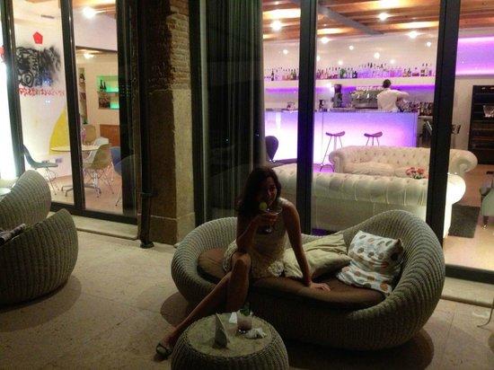 Hotel Veronesi La Torre: Bar und Terrasse
