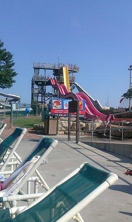 Wisconsin Dells Water Parks at Chula Vista Resort: outdoor slides