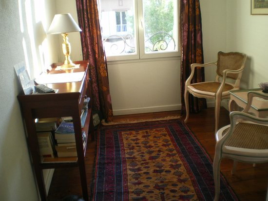 Chez Marie: Studio/zona lettura