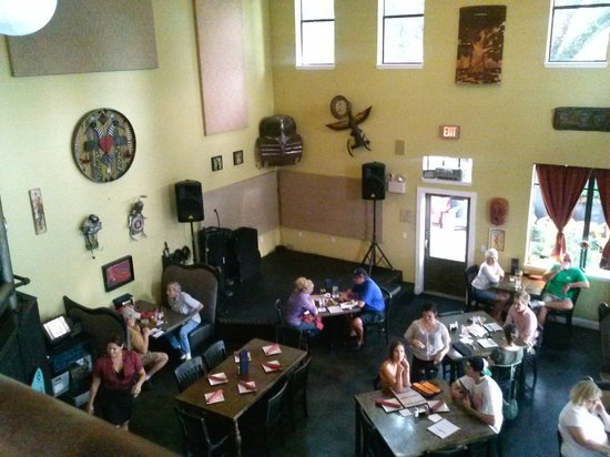 Ella's Americana Folk Art Cafe : from the 2nd floor - richko