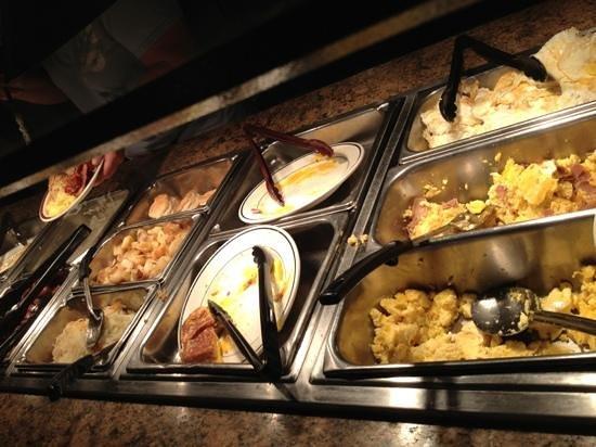 Dixie Cafe: breakfast buffet