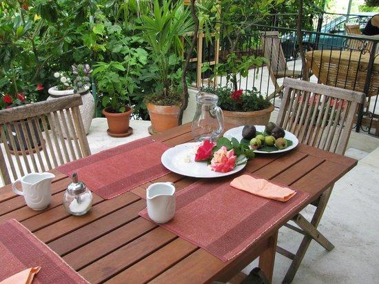 Casa del Sal : Mesa do café da manhã.